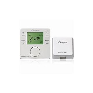 WORCESTER COMFORT+ I RF WIRELESS ROOM THERMOSTAT & TIMER