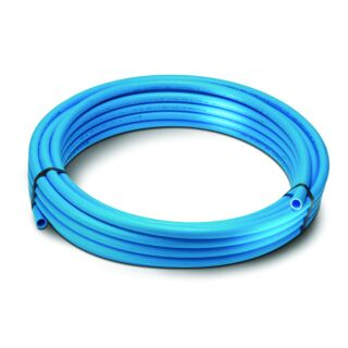 25mm X 25M BLUE MDPE PIPE COIL