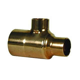 22mmx22mmx28mm END FEED REDUCING TEE