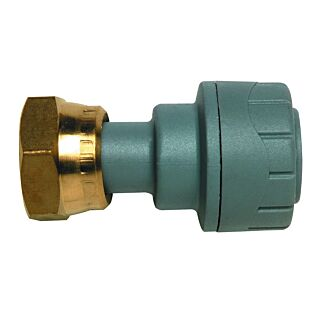 PB715 POLYPLUMB STRAIGHT/TAP CONNECTOR 15mmx1/2