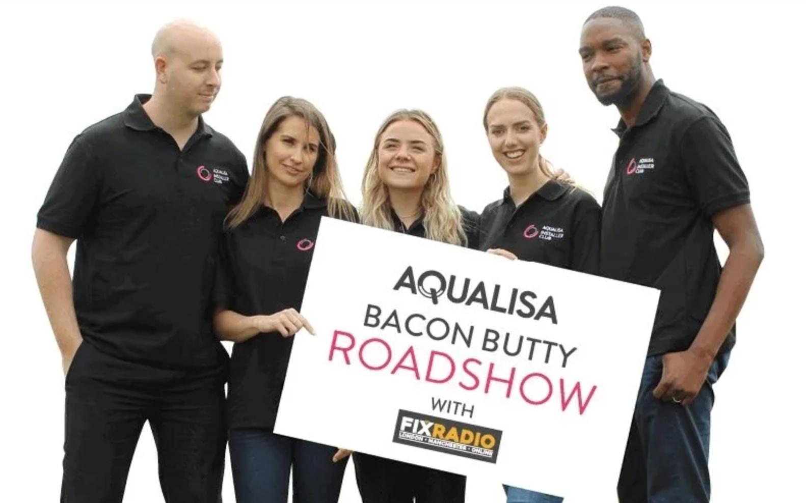 Aqualisa's 'Bacon Butty' Roadshow